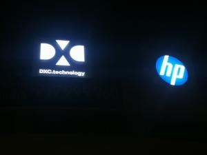 DXC - Illuminated Sign 2