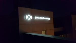DXC - Illuminated Sign 3