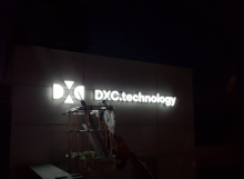 DXC - Illuminated Sign 4