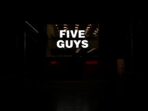 FIVE GUYS - Exterior Illuminated Sign 1