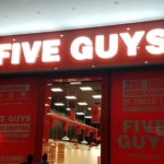 FIVE GUYS - Illuminated Sign 1