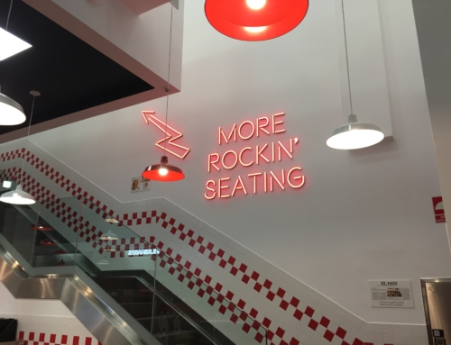 FIVE GUYS – Interior Illuminated Sign