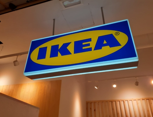 IKEA – Interior Illuminated sign