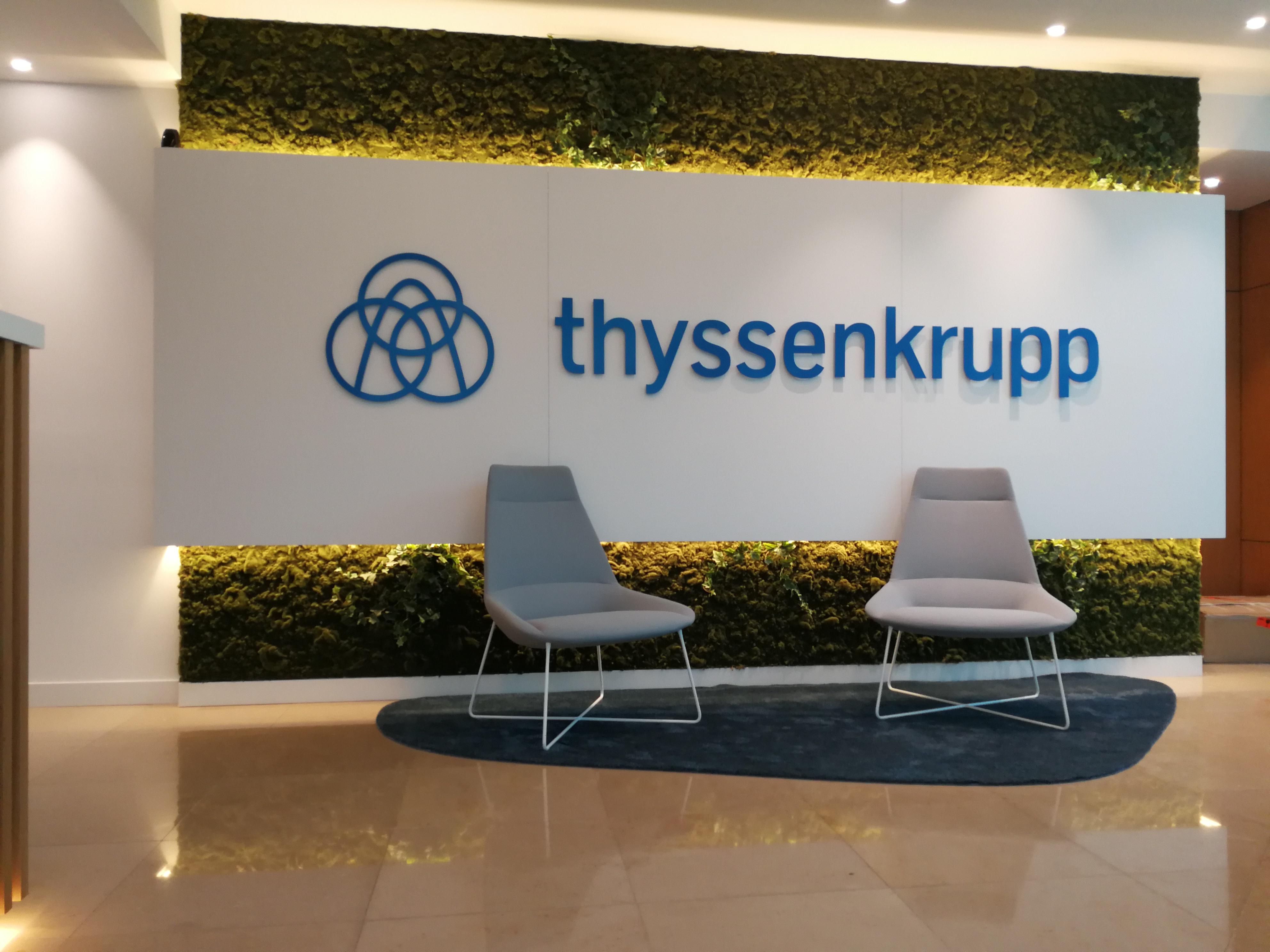 Thyssenkrupp - Interior Plate Letters 3