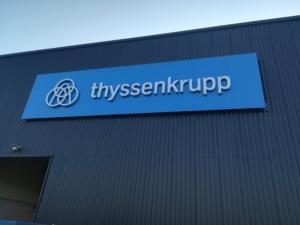 Thyssenkrupp - Pan Sign