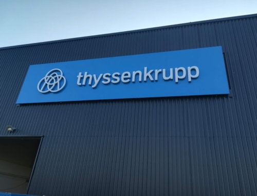 Thyssenkrupp – Pan Sign